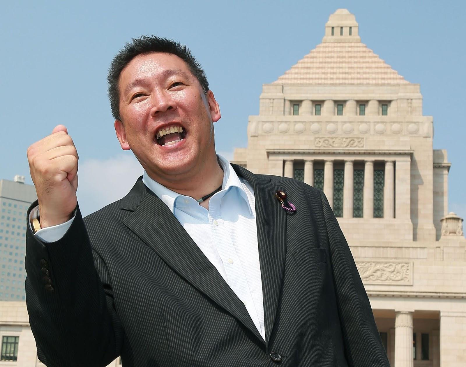 NHKから国民を守る党・立花孝志さん書類送検 彼の魂の性質 - 宇宙の ...