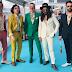 [IMAGEM] The Black Mamba na 'Turquoise Carpet' do Festival Eurovisão 2021