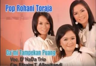 Lagu Toraja Da'mi Tampekan Puang (D' Nada Trio)