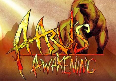 غلاف لعبة الاكشن Aaru's Awakening للكمبيوتر