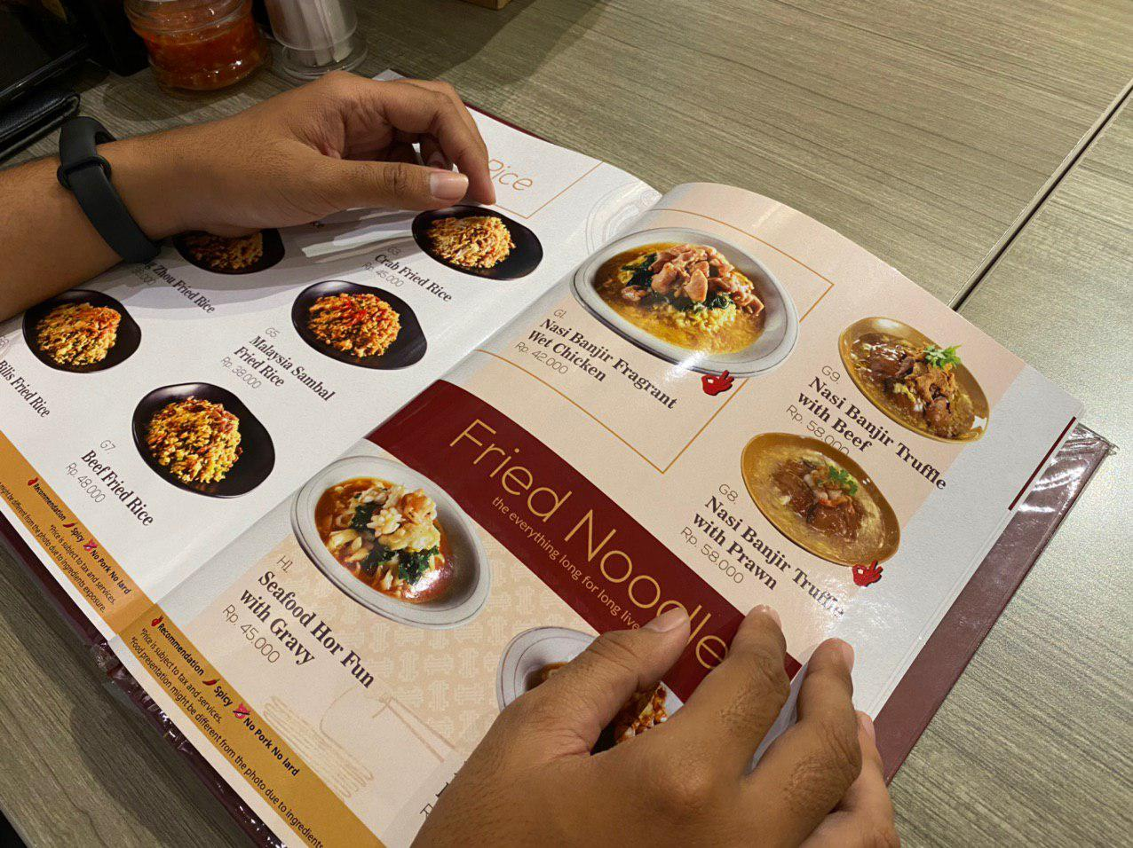 traveloka eats surabaya kasoh tunjungan plaza menu