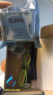 máy đo tĩnh điện cổ tay Surpa