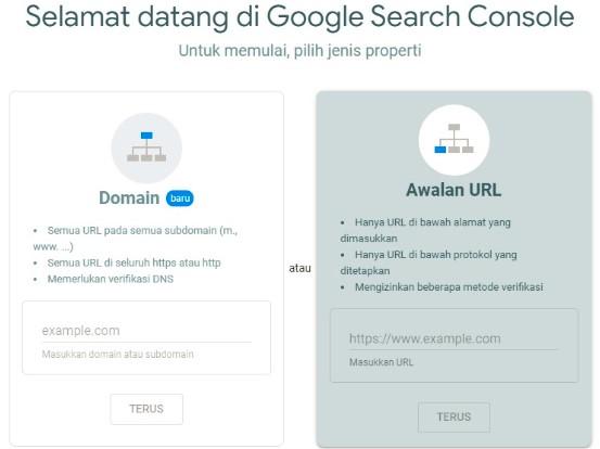 Cara Daftar Google Search Console Untuk Website dan Blog