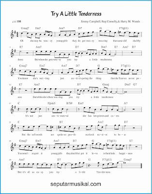 try a little tenderness lagu jazz standar