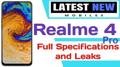 Realme 4 Pro full Specifications