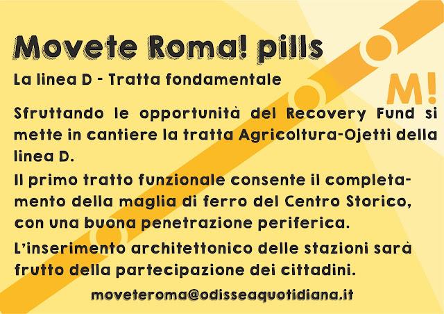 Movète Roma Pillola, numero 8, La Metro D - una tratta fondamentale