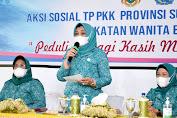 Sambut Ramadan, TP PKK Sumut dan IWABA Medan Gelar Aksi Sosial