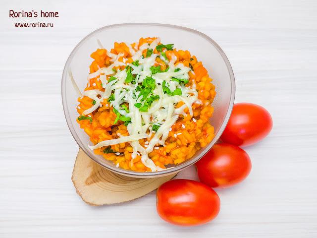 томатное ризотто (пошаговый рецепт)