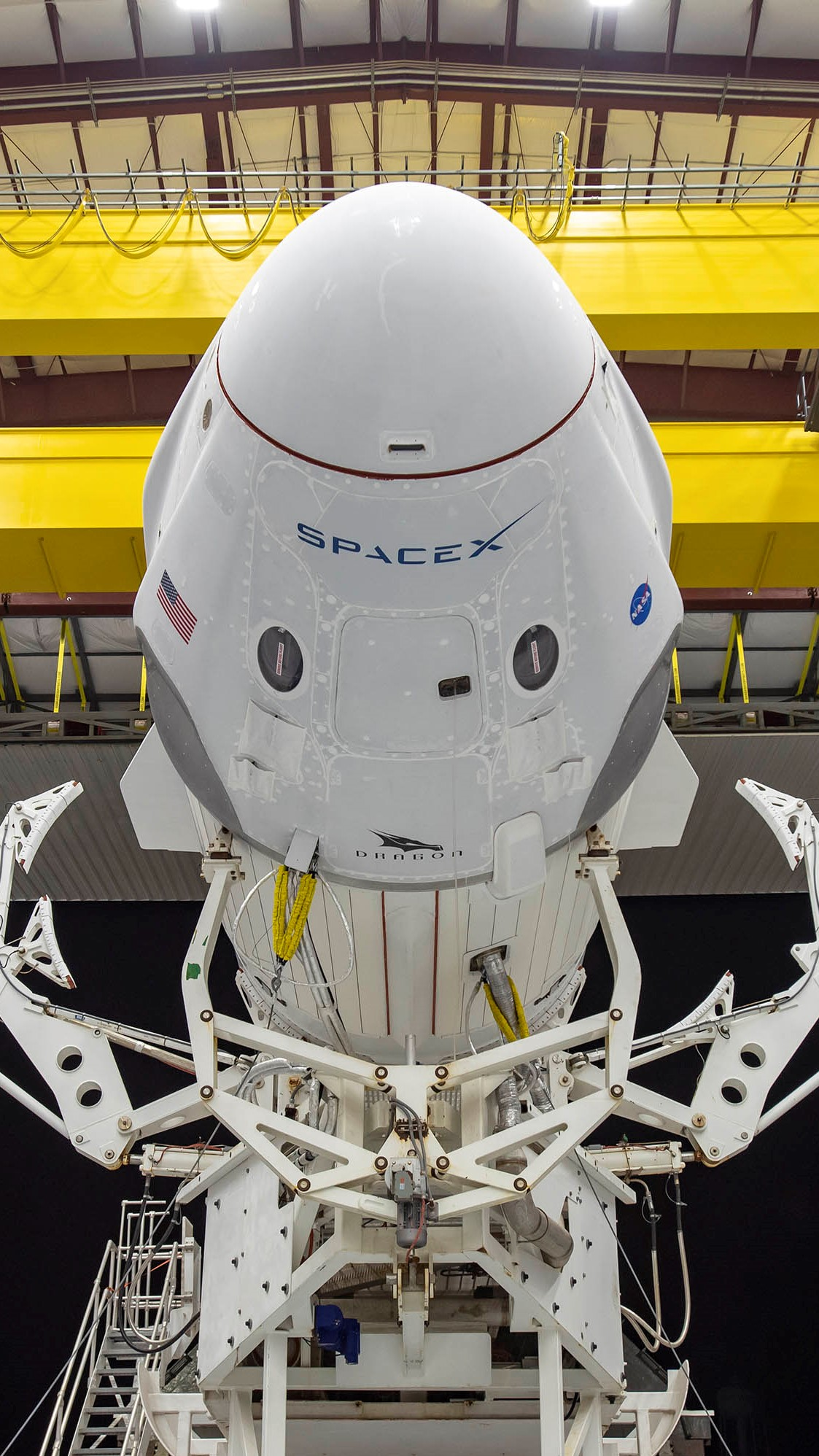 Falcon 9 rocket on the Demo-2 mission Spacex wallpaper ...