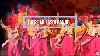"🎻🥁Popurri con Letra Comparsa "" Do re mi fasoleando"" de Antonio Martínez Ares (1992)🎻🥁"