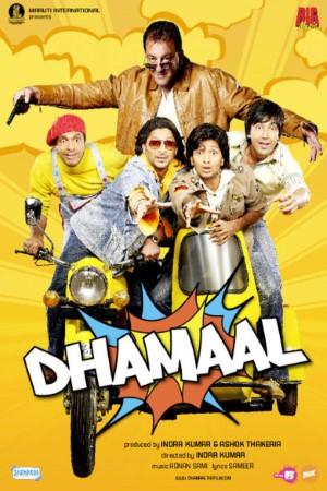 Download Dhamaal (2007) Hindi Movie 720p WEBRip 1GB