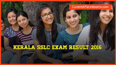 SSLC Exam Result 2016