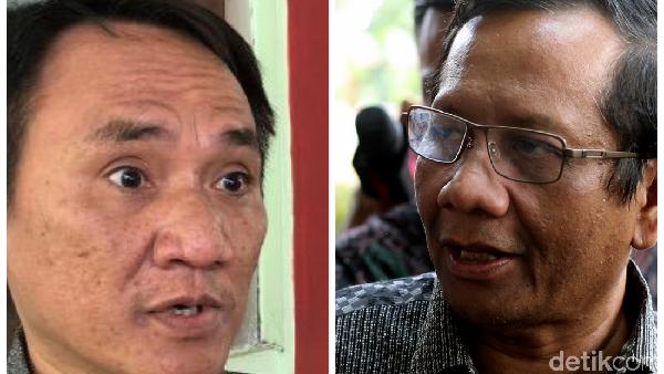 KKB Papua Dinyatakan Ter*ris, Andi Arief: Mahfud Md Sumbu Pendek
