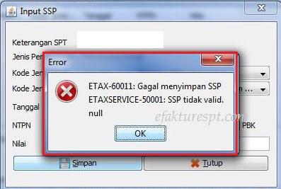 efaktur error ETAX-60001 dan ETAXSERVICE-50001