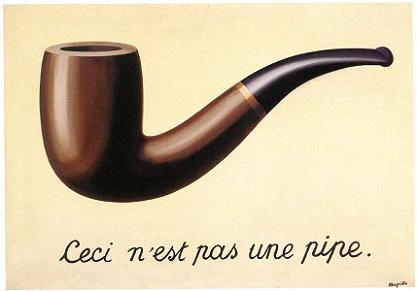 Isto não é um cachimbo - René Magritte
