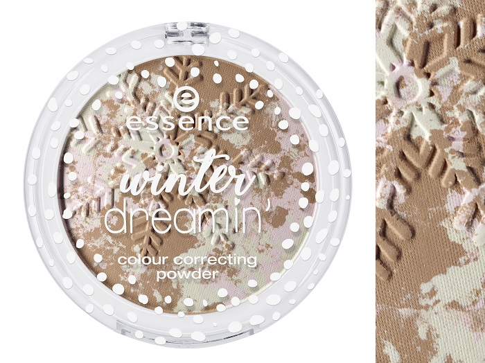 essence winter dreamin colour correcting powder