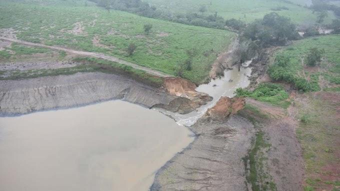 Rompimento de barragem na Bahia aconteceu após ruptura em açudes menores