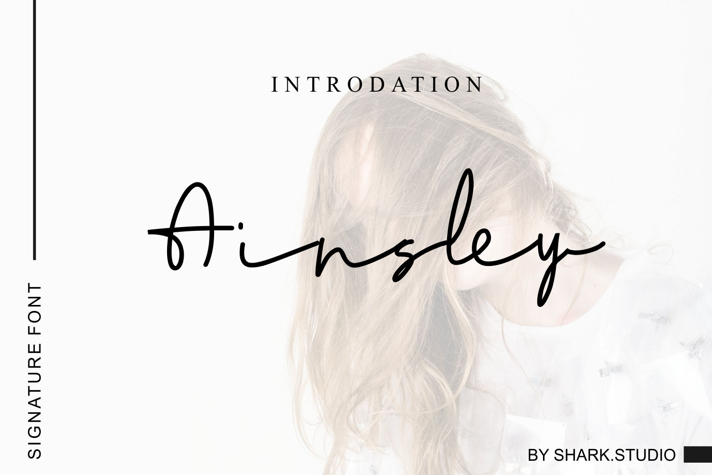 Ainsley Font - Free Script Signature Typeface