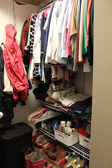 Dorm Room Closet: How To Organize A Dorm Closet