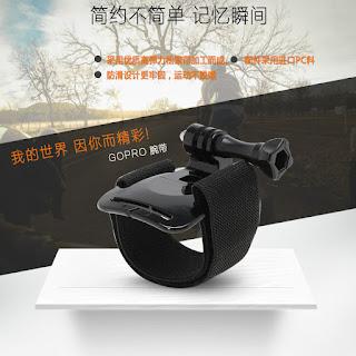 Gopro Wrist Mount Hand Strap Band Holder For Gopro / SJCAM /Xiaoyi