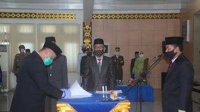 Plt.Bupati Resmi Melantik Drs.H.Lekok,M.M. Menjabat Sekretaris Daerah Kabupaten Lampung Utara