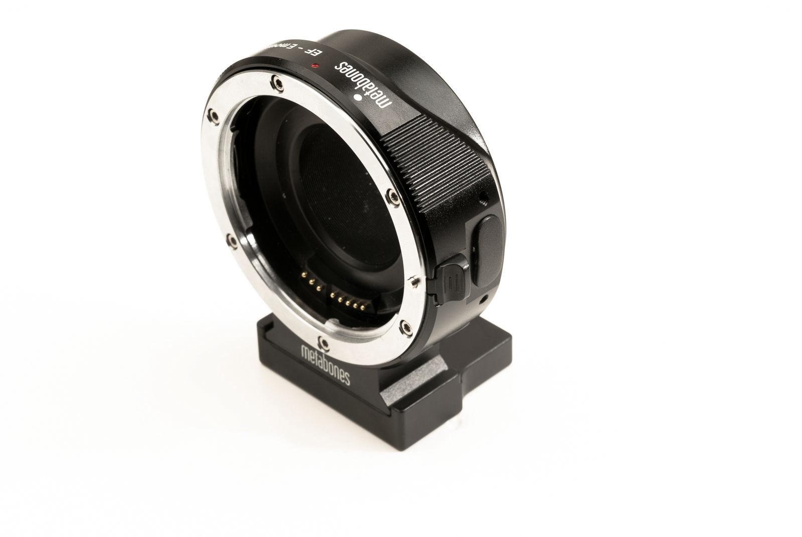 Hejnar Extender Spacer on Metabones Adapter overview