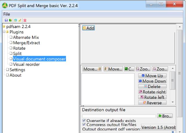 تحميل برنامج دمج وتجزئة PDF مجانا PDF Split and Merge Basic 3.3.7