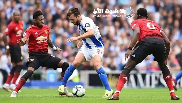 يحل اليوم مانشستر يونايتد ضيفا ثقيلا علي برايتون في الجولة الثانية والثلاثون ضمن منافسات الدوري الانجليزي