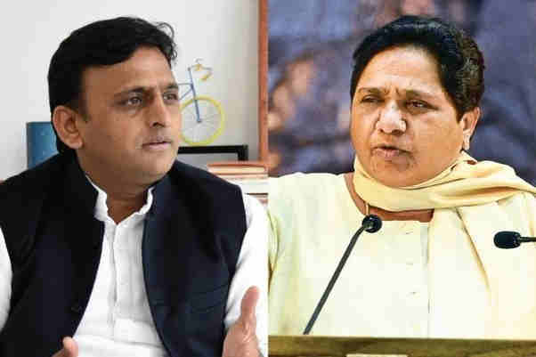 Akhilesh said – 'the car did not overturn, the government was saved from turning', know what Mayawati said