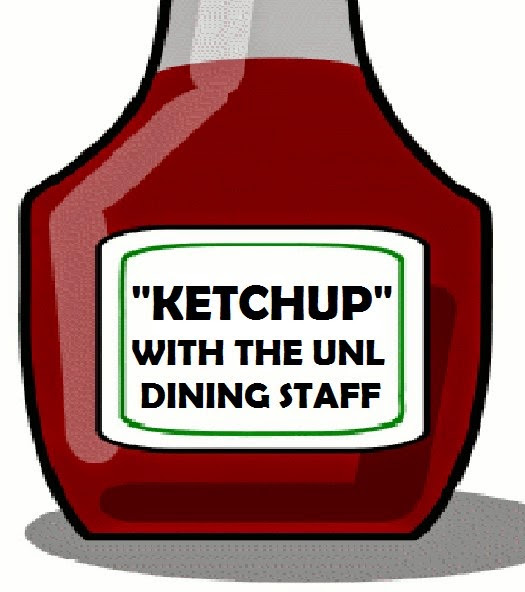 Ketchup with UNL Dining Commons Campaign