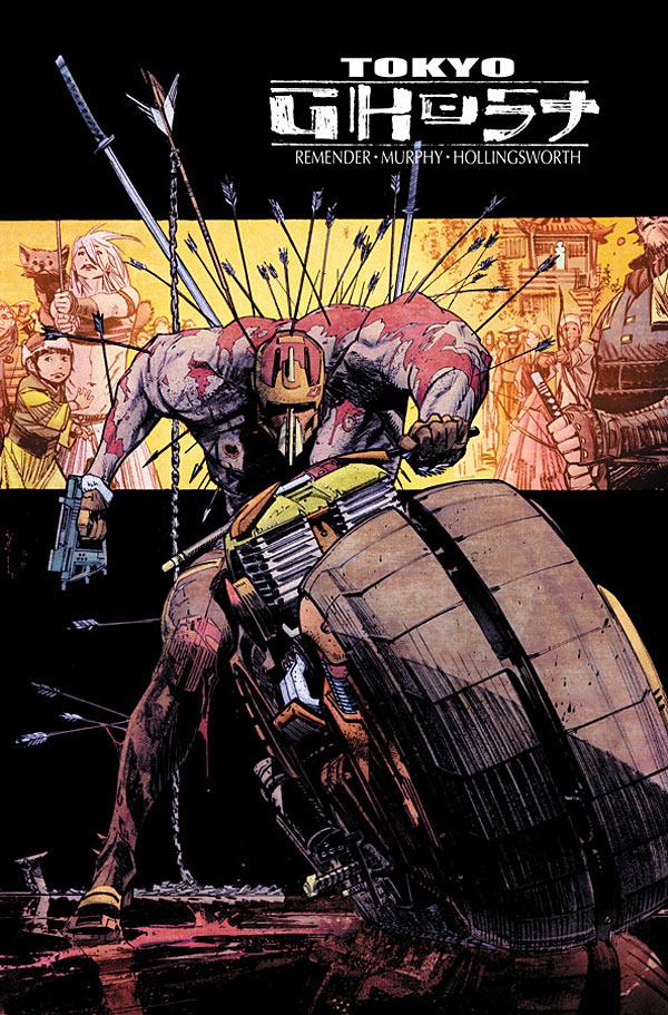 Siempre quieres leer Un Cómic Más!: 6TA PORTADA DE LA SEMANA: TOKYO GHOST  #5 ARTE DE SEAN GORDON MURPHY