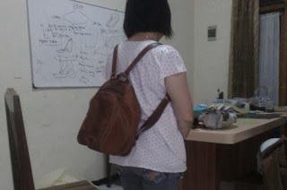 tas ransel wanita kulit