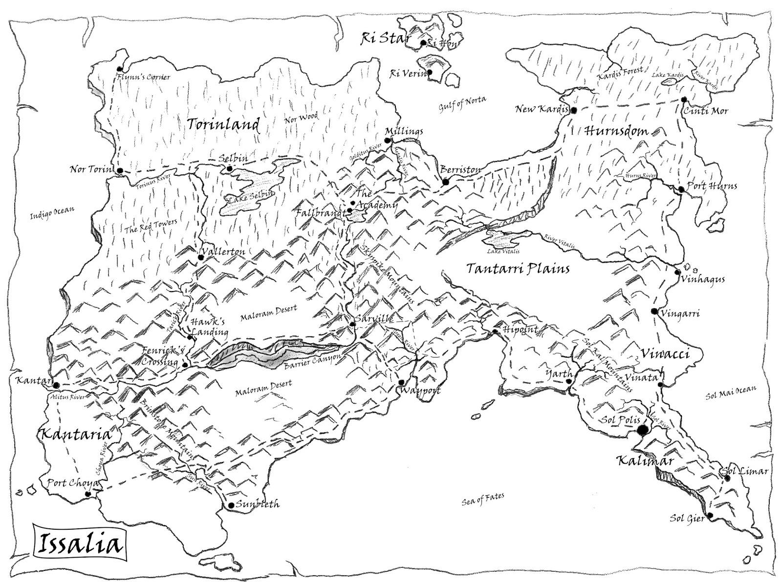 Jeffrey L Kohanek Author's Blog: Enjoy Fantasy Maps? Me Too!