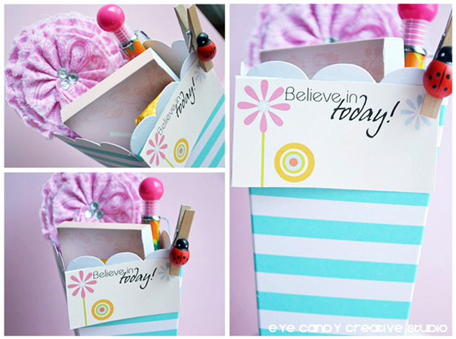 believe in today, mini cards, spring basket, gift ideas, shop skylar raine