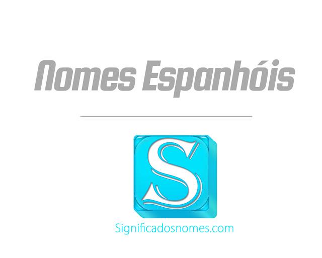 nomes espanhois