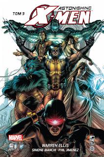 Astonishing X-men tom 3 okładka