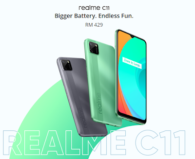 Realme C11 Specification Price in Pakistan 2020