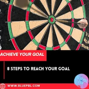 8 Steps to Reach your goal and achieve your dream