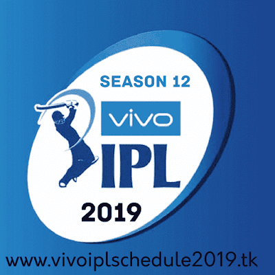vivo ipl 2019 details - venues, points table, teams