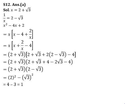 Algebra Questions for SSC CGL TIER-2 , SSC Stenographer & IB (ACIO) 2017_290.1