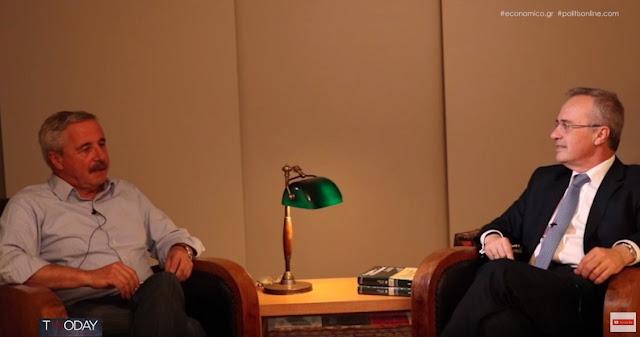 Γ.Μανιάτης: «Ναι, η Ελλάδα έχει σημαντικό ορυκτό πλούτο» (βίντεο)