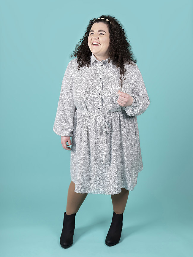 Lyra sewing pattern by Tilly and the Buttons