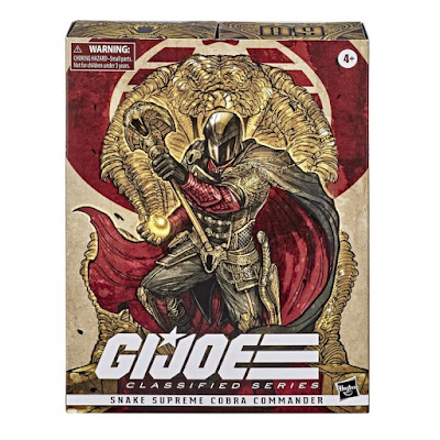 San Diego Comic-Con 2020 Exclusive G.I. Joe Classified Series Snake Supreme Cobra Commander Action Figure by Hasbro Pulse