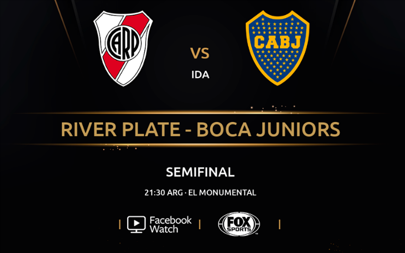 River Boca por Facebook Watch