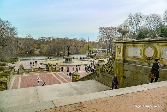 Terraço Bethesda, Central Park, Nova York