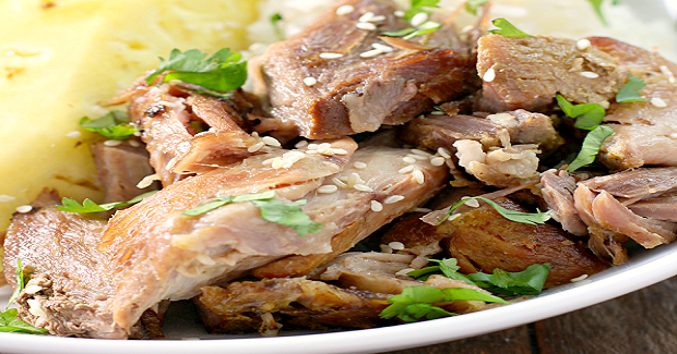 Slow Cooker Polynesian Pork Recipe