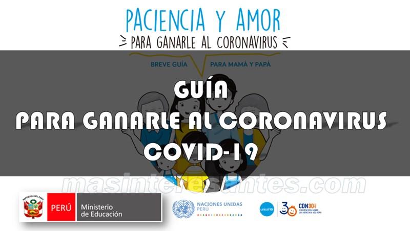 guía para ganarle al coronavirus