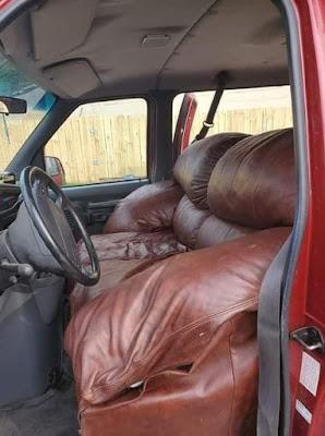 Sofa las Autositz witzig