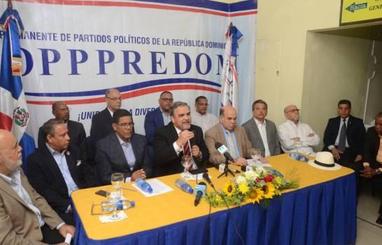 Foro de Partidos Políticos sugiere a JCE celebrar elecciones presidenciales el 12 de julio