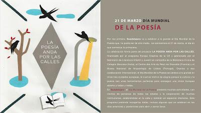 Programa DÍA MUNDIAL DE LA POESÍA en Guadalajara